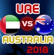 United Arab Emirates v Australia Only T20I, 2018