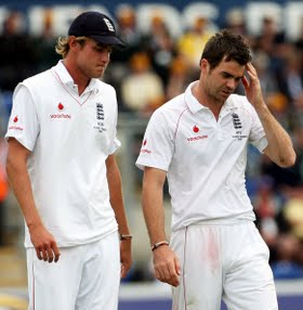 Stuart Broad and James Anderson