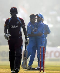 India Vs West Indies 3rd ODI Live score