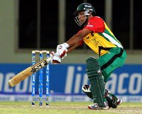 Ramnaresh Sarwan batting, Guyana Amazon Warriors vs Trinidad & Tobago Red Steel, Caribbean Premier League 2013