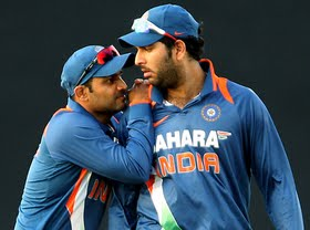 Yuvraj Singh got the Man of the Match