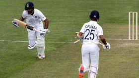 Pujara, Vihari rescue India after batting wobble against New Zealand XI