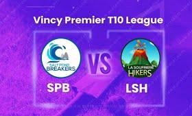 VPL T10 2020: Salt Pond Breakers vs La Soufriere Hikers, 9th match Live scores, Squads