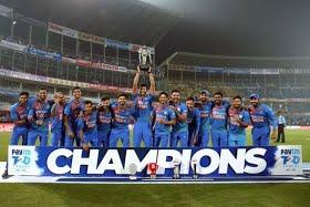 Deepak Chahar hat-trick as India seal series at Nagpur