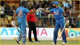 India vs Australia: Rohit, Kohli sizzle as India down Aussies to clinch series