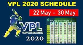 VPL T10 2020: Vincy Premier T10 League 2020 Points table, Team standings