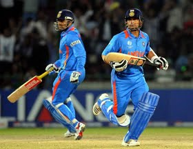 Sehwag recalls masterly advice by Sachin Tendulkar during 2011 World Cup final