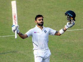Virat Kohli slams 20th Test century as Indian captain, goes past Ricky Ponting