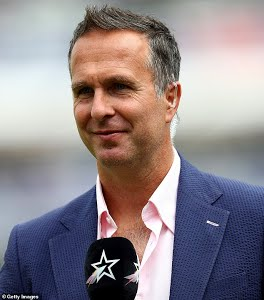 Embarrassment: That is how Michael Vaughan described England crashing to 85 all out against Ireland