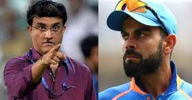 Sourav Ganguly wants Virat Kohli to win big tournaments