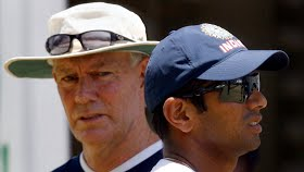 Rahul Dravid has picked our brains, seen what we're doing and replicated it in India: Greg Chappell