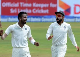 Kohli feels Pandya's performance the biggest gain from Lanka series