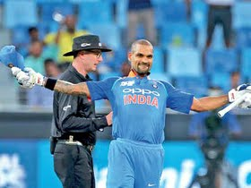 Dhawan: Doesn't matter to me what people say
