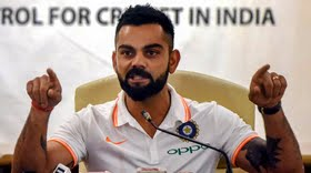 Kohli says 'No' when asked if Shastri is a 'Yes' man