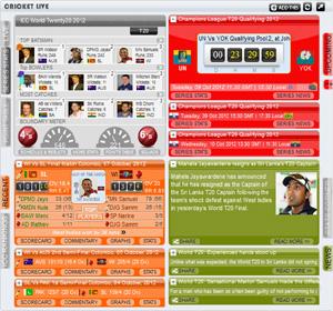Free Live Cricket Widget for ICC World Cup 2019|IPL|ODI,TEST