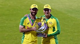 3rd ODI: Maxwell, Carey tons as Australia clinch series
