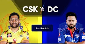 IPL 2021 Match 2: CSK vs DC in battle of wicketkeeper captains