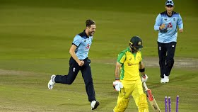 2nd ODI: England level series as Australia batting crumbles again