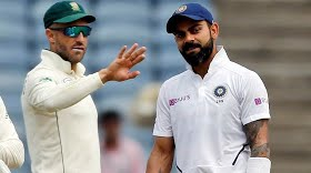 Can only admire Virat Kohli from a distance: Faf du Plessis